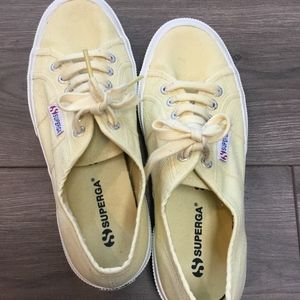 Yellow Superga Sneakers